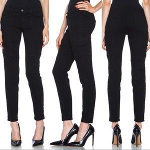 Frame Denim Black Cargo Le Skinny Armee Jeans